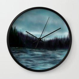 Hood Canal, Puget Sound Wall Clock