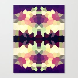 Rorshach in Color Canvas Print
