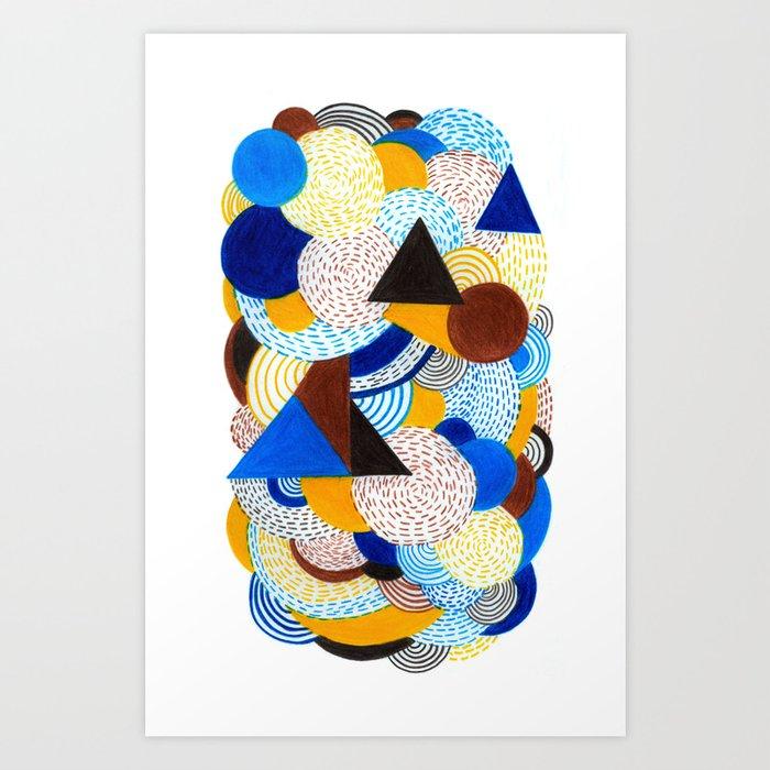 Cold sunshine Art Print