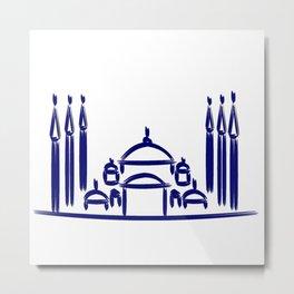 Sultanahmet Mosque Metal Print