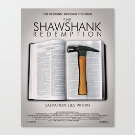the shawshank redemption Canvas Print