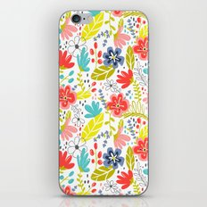 Wildflower iPhone & iPod Skin