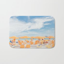 sardinia italy beach scene Bath Mat