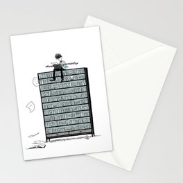 LITTLE DREAMS, BIG BOOKCASE Stationery Cards