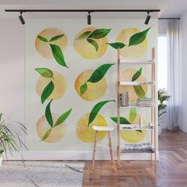 Wild Lemons Wall Mural