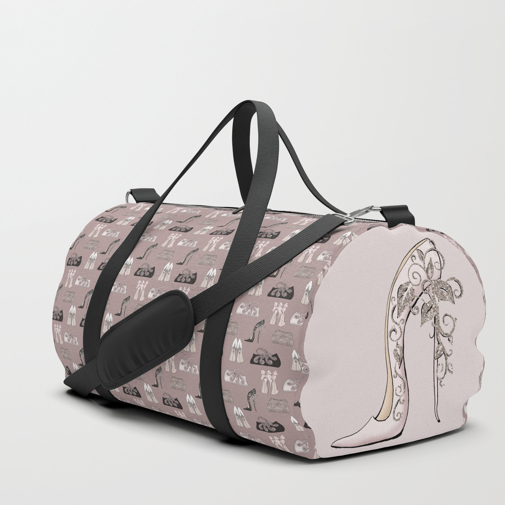 Luxury Girl Party Shoes Purse Pattern Duffle Bag by Art4sharing (DFL10005069) photo