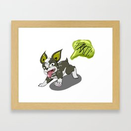 Good Dog, Best Stand User Framed Art Print