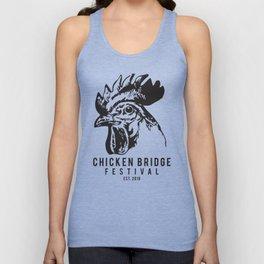 Chicken Bridge Festival, 2018 Unisex Tank Top