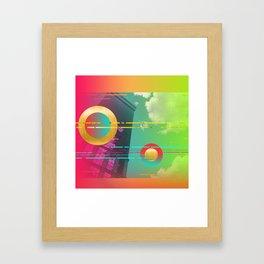 mango 80s big Framed Art Print