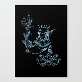 Sea Posse IV - King Canvas Print