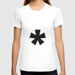 Asterisk (Black & White) T-shirt