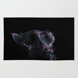 Ethereal Cat Rug