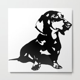 Dachshund Doxie Daxie Wiener  Dog Breed  Metal Print