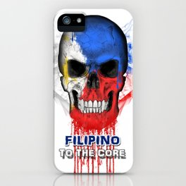 To The Core Collection: Philippines iPhone Case