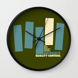 Jurassic 5 Blue Note Records Cover Wall Clock