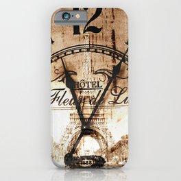 Vintage Paris iPhone Case