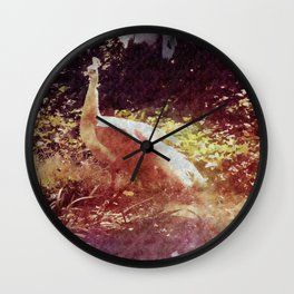 Strut Wall Clock