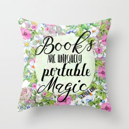 Portable Magic Throw Pillow