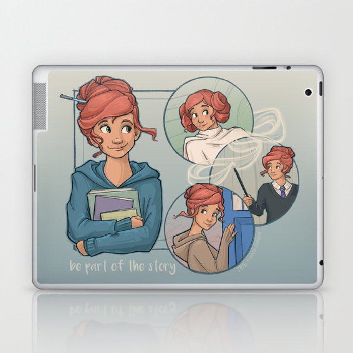 Be Part of the Story Laptop & iPad Skin