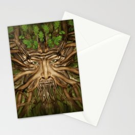 The Green Man - Spring Stationery Cards