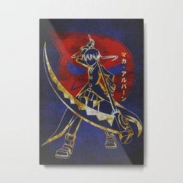 Maka Albarn Metal Print