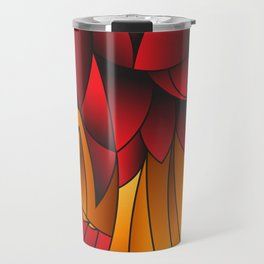 The Queen Cubism Art Travel Mug