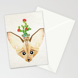 fennec fox Stationery Cards