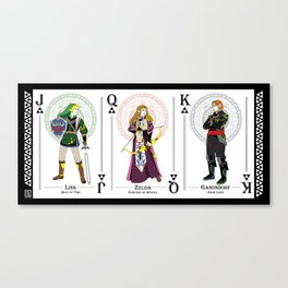 Legend of Zelda - Hylian Court 1 Canvas Print
