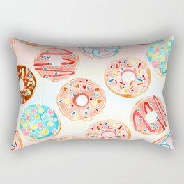 DONUT TREAT in dreamy pastels Rectangular Pillow