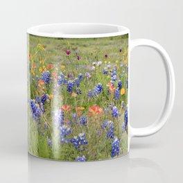 Bluebonnets, Indian Paintbrushes & Wildflowers Coffee Mug