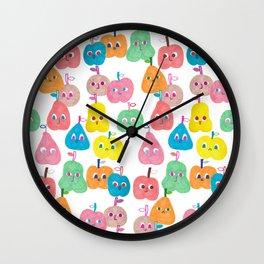 Fruity Friends Wall Clock