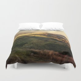 Postcards from Scotland Duvet Cover