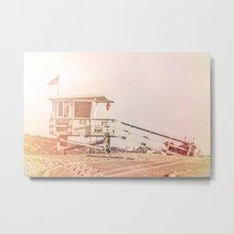 "Bruno Mars ""Billionaire"" Video Lifeguard Tower Metal Print"
