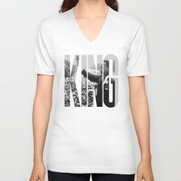 King - Martin Luther Unisex V-Neck