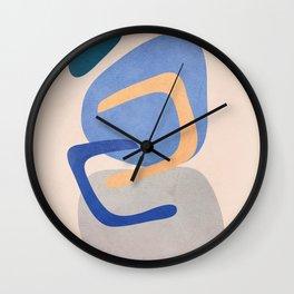 Two Balancing Rocks Wall Clock