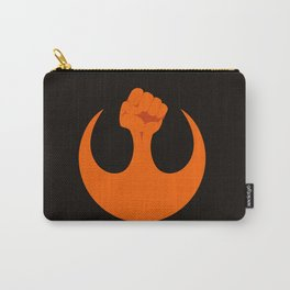the resistance (dark) Carry-All Pouch