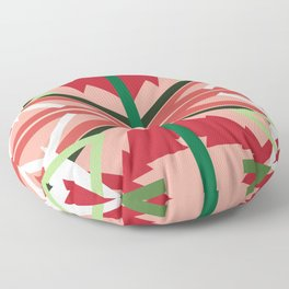 Holiday Pattern Floor Pillow