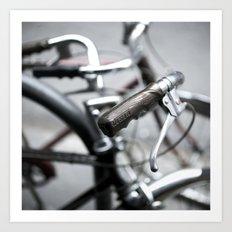 bikes 01 Art Print