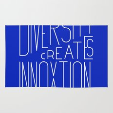 Diversity creates innovation Rug