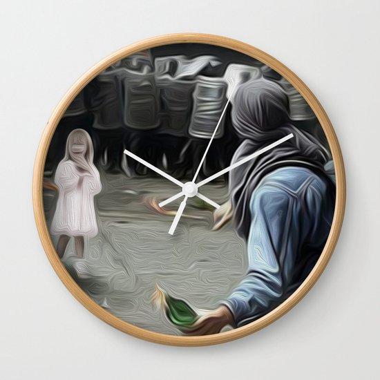 innocents takes no sides Wall Clock