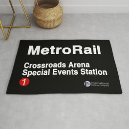 Crossroads Arena Special Events Station Rug