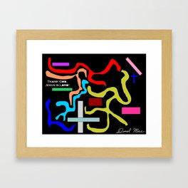 Rectangular Framed Art Print