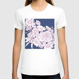 Flower Mix Sketch T-shirt
