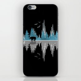 The Sounds Of Nature - Music Sound Wave iPhone Skin
