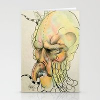 birdman Stationery Cards featuring BIRDMAN by Jonathan Idler