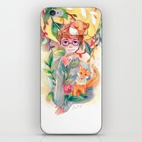 gem iPhone & iPod Skins featuring Gem by Ozora