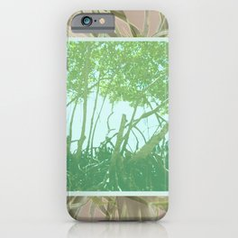 Mangrove Botanical #botanical iPhone Case