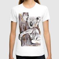 cuddle T-shirts featuring koala cuddle by Katy Lloyd