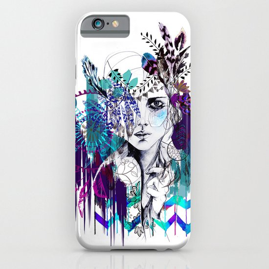 Tribal Girl - Colourway - iPhone & iPod Case