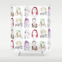 Cool Kids Shower Curtain